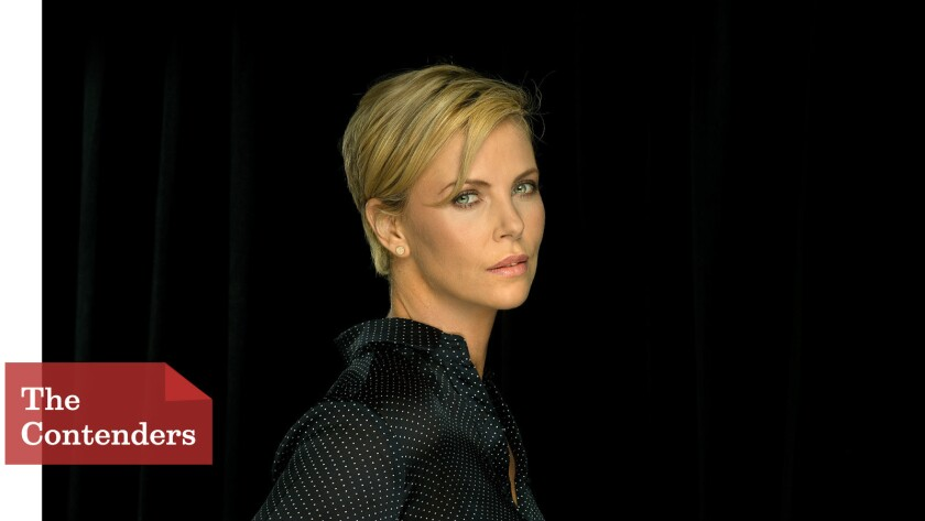 """""""In the ultimate hardcore action film they're going to make the female lead be an amputee? This is ... great,"""" Charlize Theron says of """"Mad Max: Fury Road."""""""