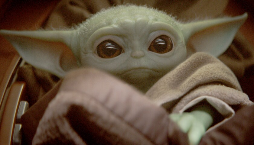 "Baby Yoda is known simply as ""the Child"" in ""The Mandalorian."""