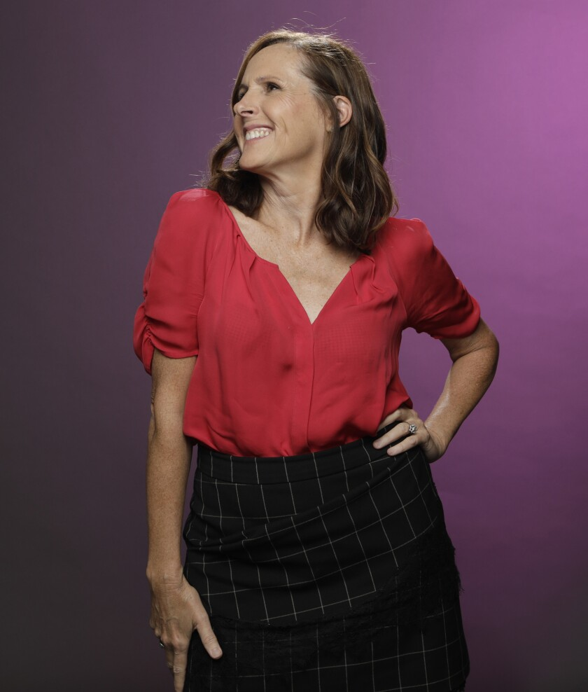 """Molly Shannon of """"The Other Two"""" is photographed at the Los Angeles Times studio for an Emmy Contend"""