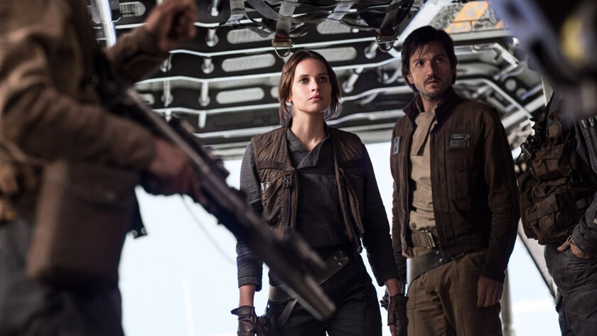 Movie review: 'Rogue One: A Star Wars Story'