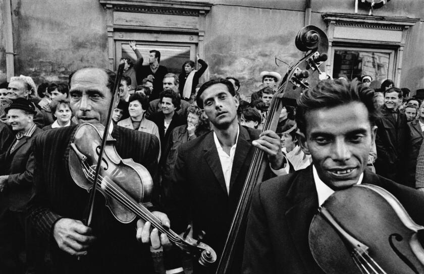 Review: Getty's Josef Koudelka retrospective is grim yet riveting