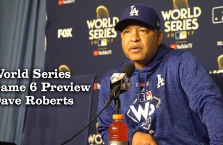 Dave Roberts Talks Rich Hill and Kenley Jansen pitching in Game 6