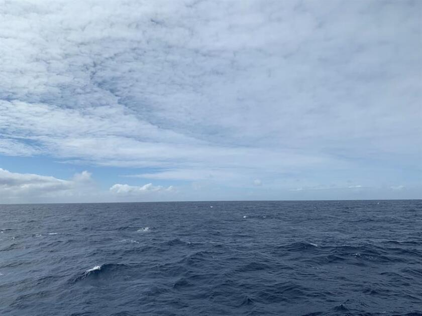 Vista hoy del Pasaje de Drake, que separa a América del Sur de la Antártida. EFE/Archivo