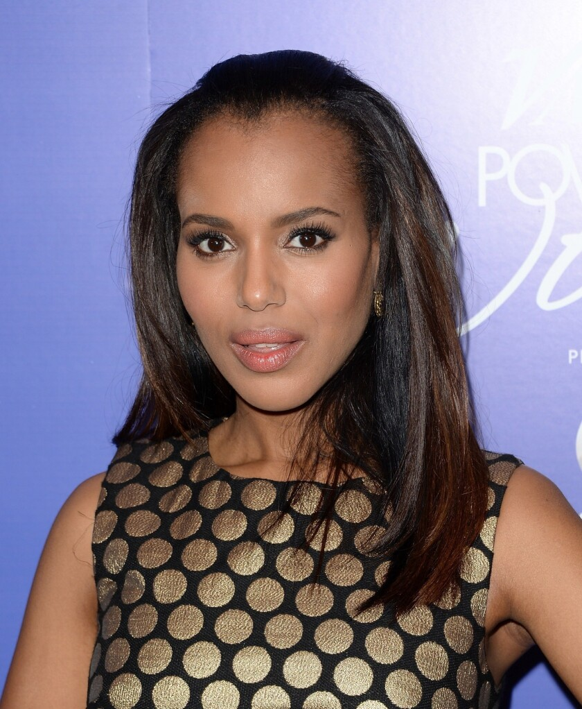 """Kerry Washington has been tapped to host """"Saturday Night Live"""" on Nov. 2, NBC has announced. In this picture, she's at a Beverly Hills event earlier this month."""