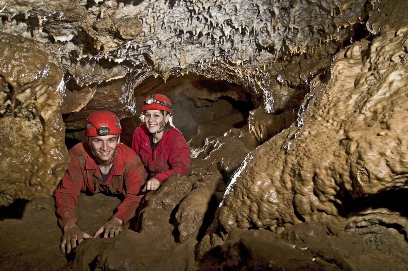 Calaveras County caves