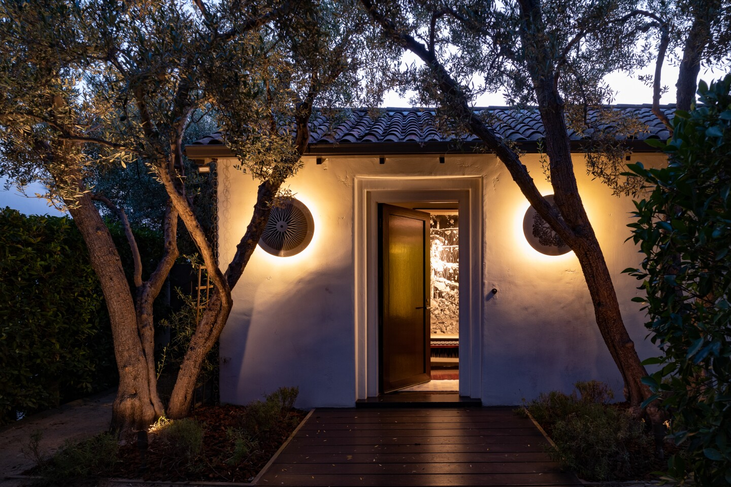 Jhoni Marchinko and Antonia Hutt's Hollywood Hills home