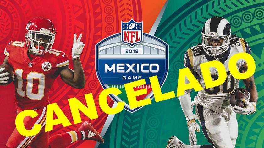 Chiefs vs Rams en Ciudad de México... no va.