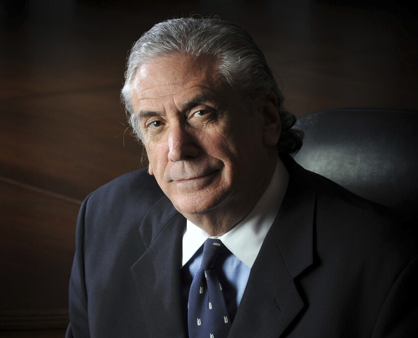 """FILE - This June 16, 2009, file photo, shows Irwin L. Jacobs. Lisa Ann Hayes, a home health nurse who discovered the bodies of the prominent Minnesota businessman and his wife in a murder-suicide case is suing their estate and seeking damages for emotional trauma. Hayes walked in on a grisly scene in April 2019 at the Lake Minnetonka mansion of Irwin and Alexandra Jacobs. She is seeking unspecified damages in her lawsuit, claiming Irwin Jacobs' actions were injurious to her health and """"constituted willful, wanton and malicious conduct."""" (Glen Stubbe/Star Tribune via AP, File)"""
