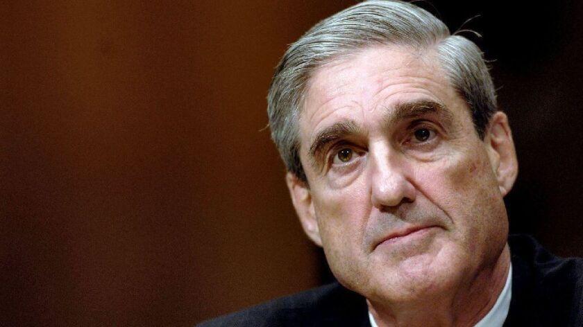 Then-FBI Director Robert S. Mueller III testifies to the Senate Judiciary Committee on March 27, 2007.