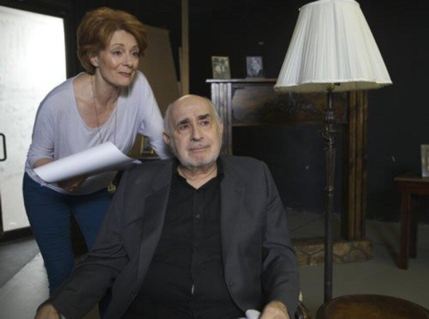 Apollo Dukakis and Rosina Reynolds star in Lionel Goldstein's 'Mandate Memories.' Aaron Rumley