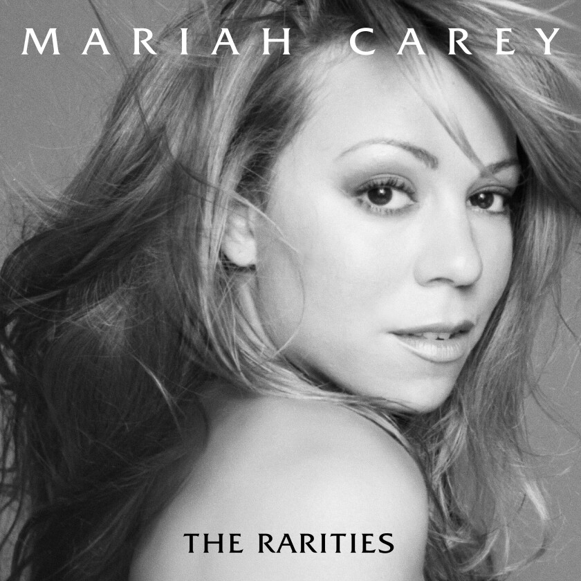 """This album cover image released by Columbia Records and Legacy Recordings shows """"The Rarities"""" by Mariah Carey. (Columbia Records and Legacy Recordings via AP)"""