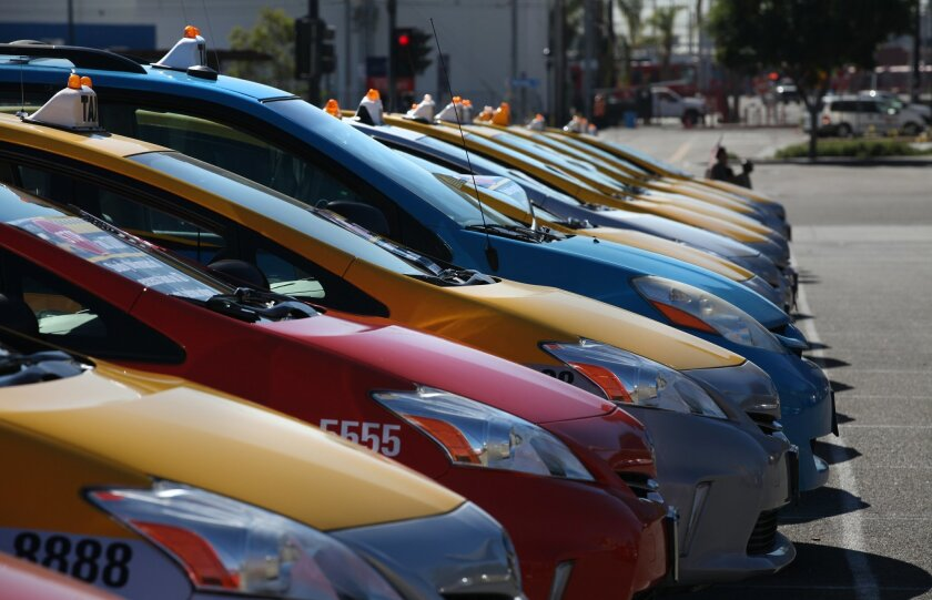 Number of cabs in San Diego could double following lift on cap