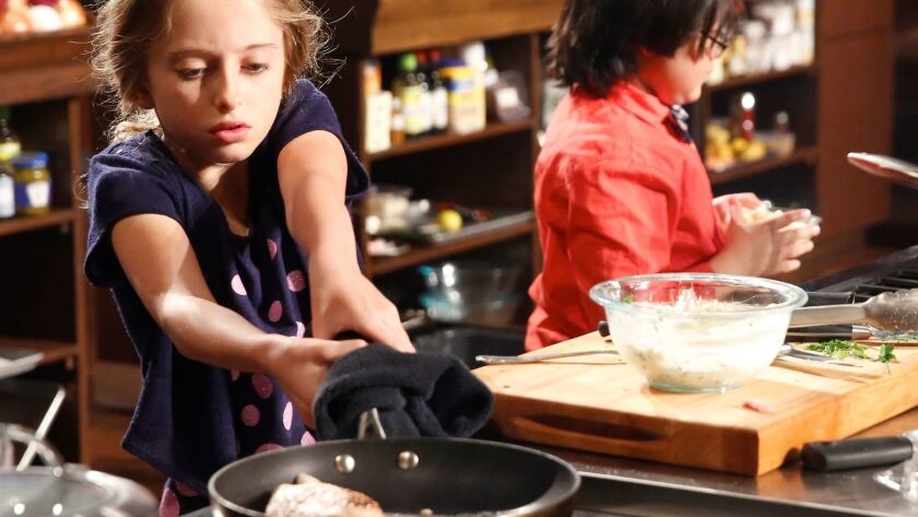 """Gracie Howard of Cardiff competes on """"MasterChef Junior"""" on Fox Network"""
