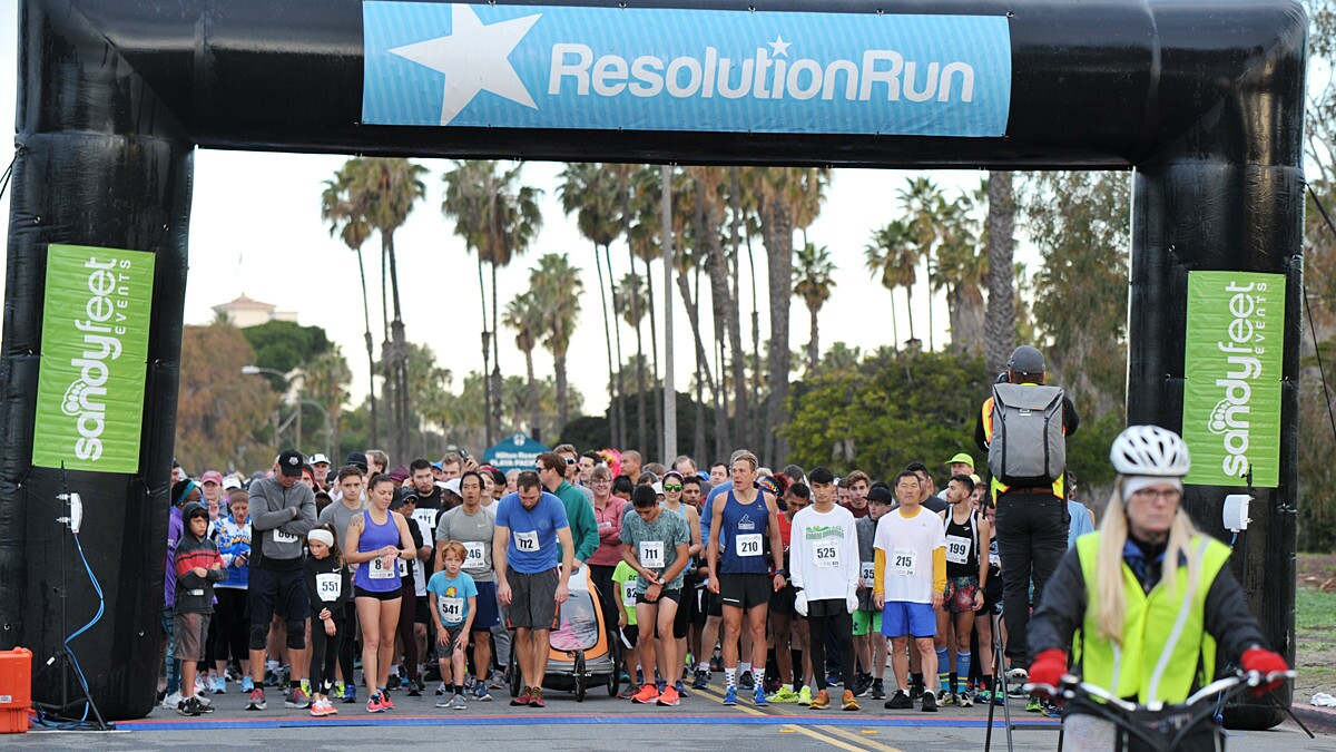 San Diego started 2019 off on the right foot at the 12th annual San Diego Resolution Run 5K/10K/Half Marathon at Tecolote Shores in Mission Bay on Sunday, Jan. 14, 2019.