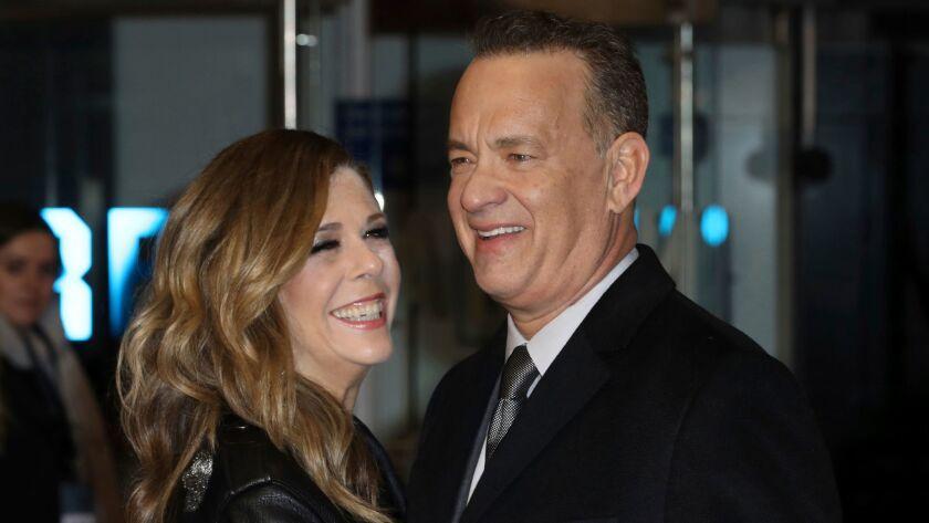 (LtoR) Rita Wilson, Tom Hanks, Rita Wilson