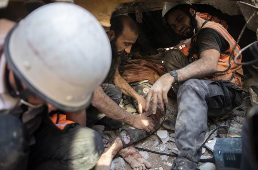 Gaza: 26 muertos y edificios derruidos en ataques israelíes