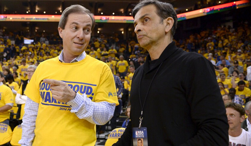 Joe Lacob, Vivek Ranadive