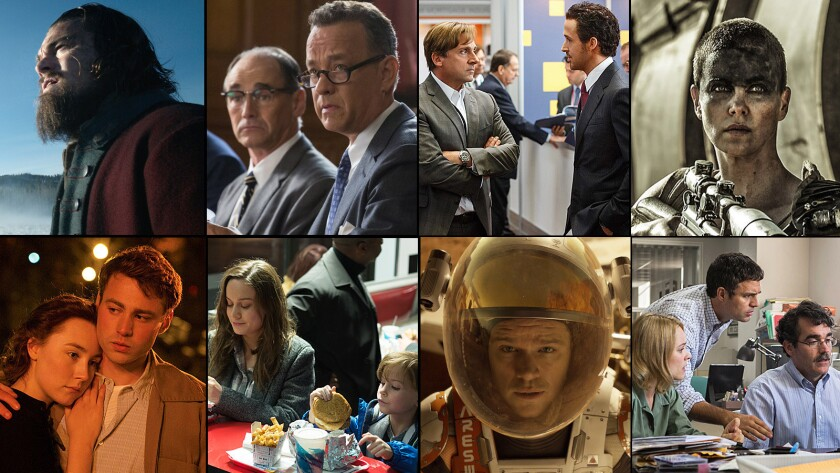 Oscars 2016 best picture nominees