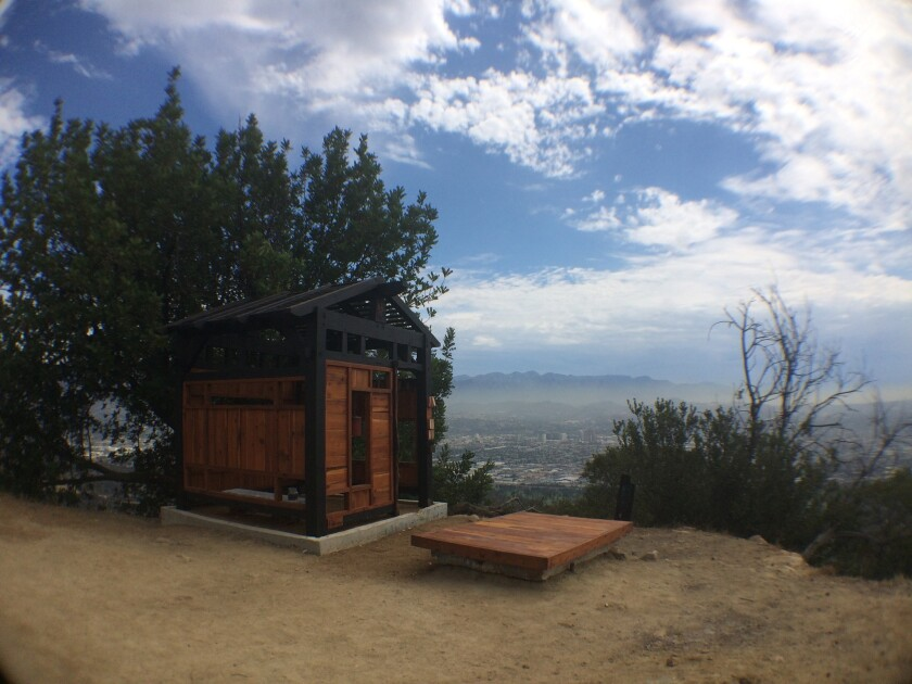 The Griffith Park Teahouse has survived its second day, attracting the curious and unsuspecting passersby alike. A petition to save it was launched on Change.org after reports appeared on Twitter that the parks department wants to remove it.