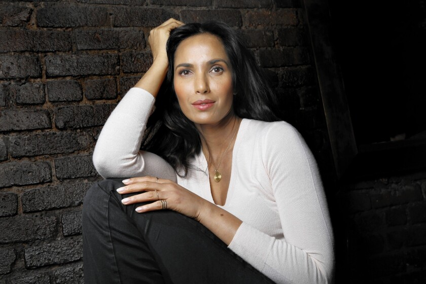 Author-actress Padma Lakshmi in New York on March 23, 2016.
