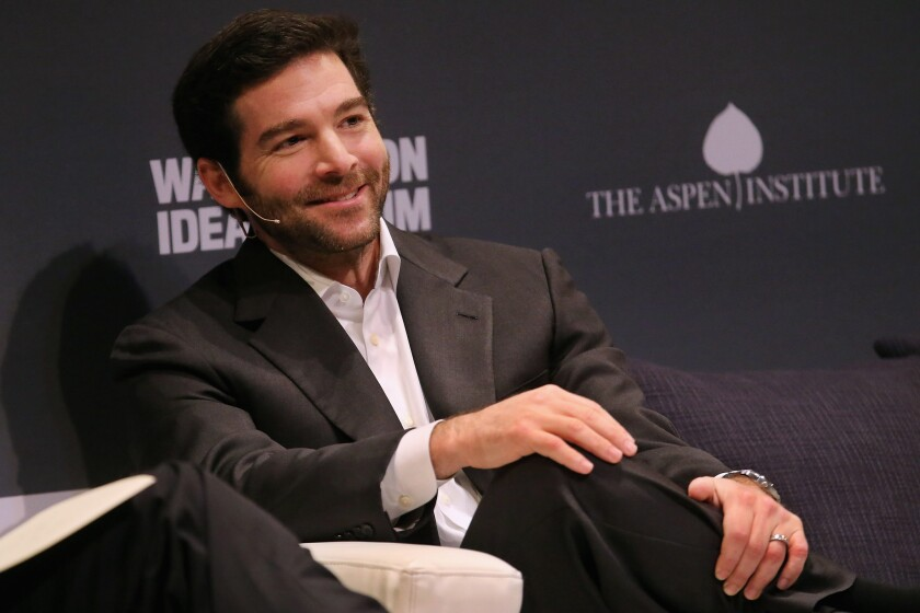 LinkedIn Chief Executive Jeff Weiner participates in a question-and-answer interview in October.