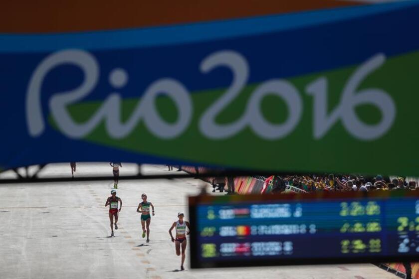 Vista del maratón de mujeres de los Juegos Olímpicos Río 2016. EFE/Archivo