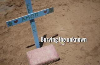 Burying the unknown
