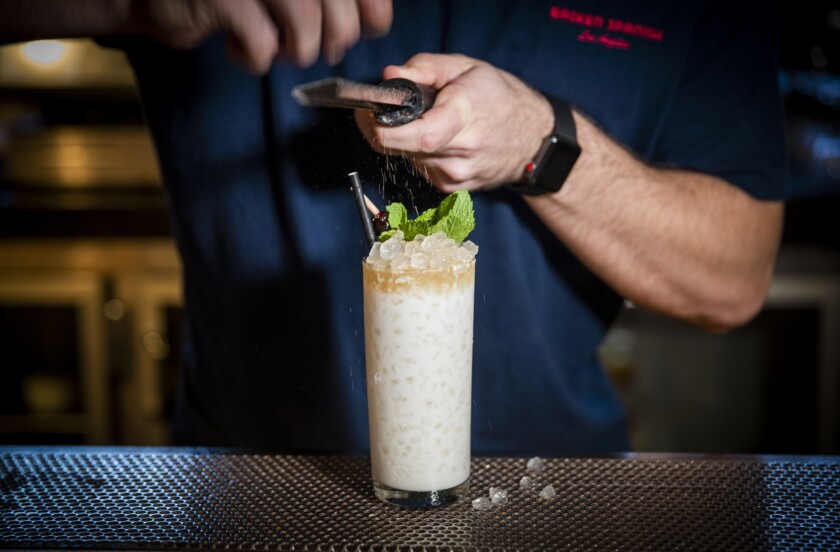 The best cocktail for horchata lovers in L.A.