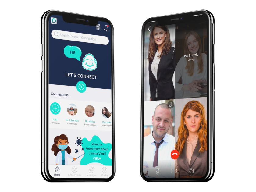 The RealTime Clinic phone app, guided by Buddy the Buddha, is one example of a virtual platform physicians and patients can use for telehealth. The coronavirus crisis is quickly mainstreaming the practice of doing doctor visits by phone or video.
