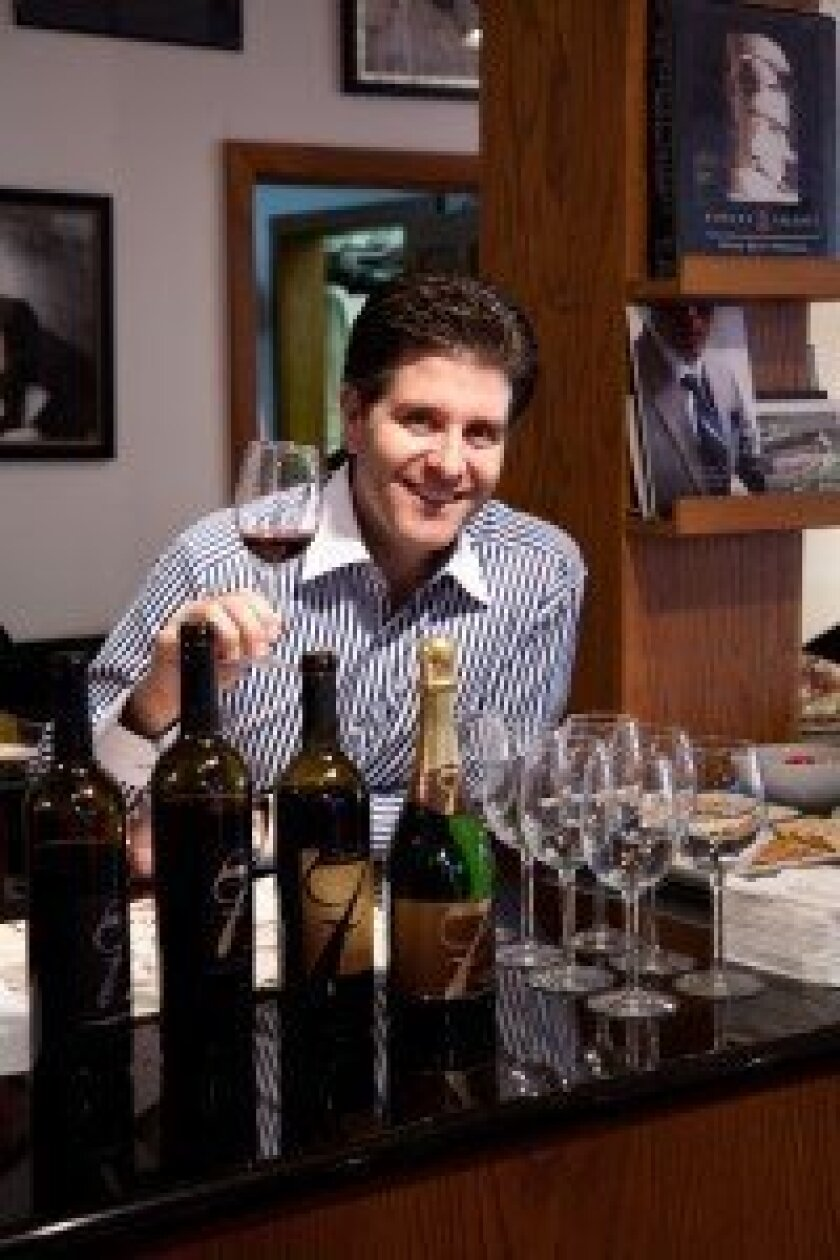 Rancho Santa Fe resident Tim Bacino's Gen 7 Wines earned several awards this summer in California wine competitions.   Courtesy photo