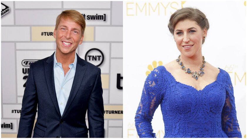 Actors Jack McBrayer and Mayim Bialik are scheduled to appear at the inaugural CatConLA in Los Angeles June 6 and 7.