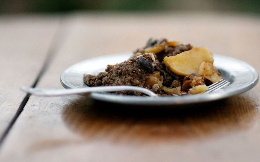 Windrose Farm apple crisp