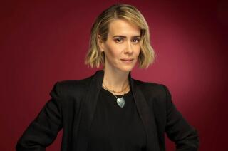 'It's not coal mining, but it's not nothing,' Sarah Paulson of 'American Horror Story: Cult'