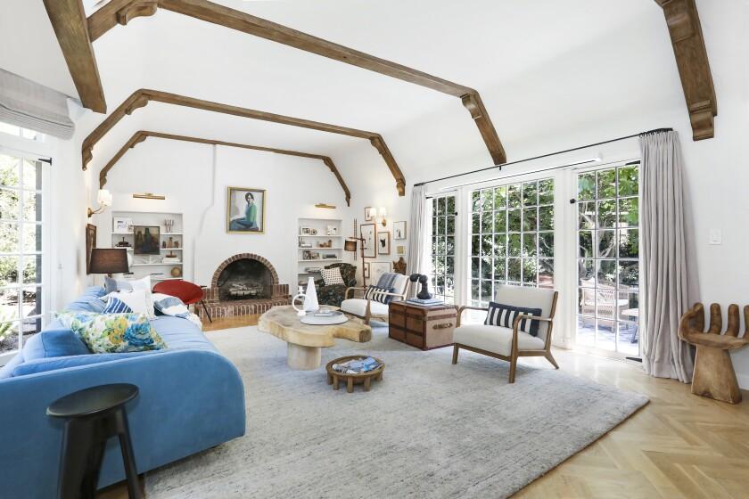 Emily Henderson's Los Feliz home