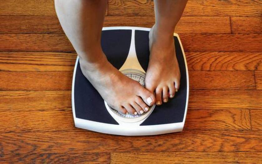 Being moderately overweight might not pose health risk