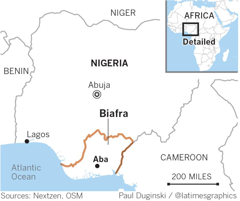 The dream of Biafra lives on in underground Nigerian radio