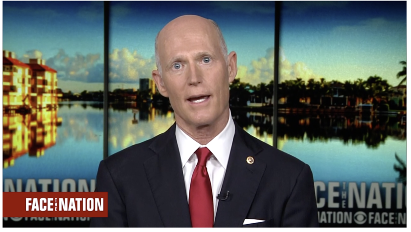 Column: Trump putting Rick Scott in charge of his healthcare push is a sick joke