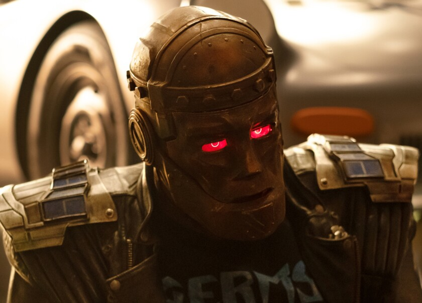 "Brendan Fraser as Robotman in ""Doom Patrol"" Season 2."