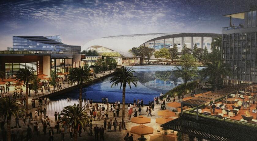 NFL Inglewood venue rendering