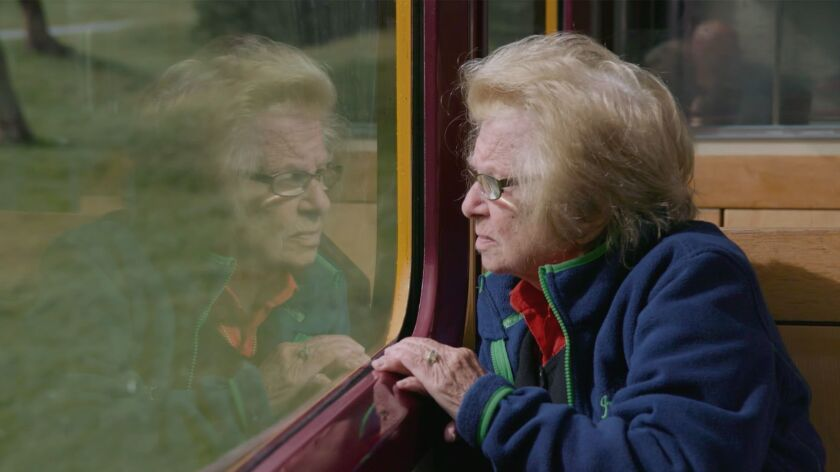 """A still from """"Ask Dr. Ruth"""" movie by Ryan White, an official selection of the Documentary Premieres"""