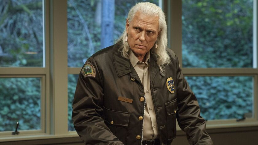"""Michael Horse as Deputy Hawk in the Showtime series """"Twin Peaks."""" Credit: Suzanne Tenner / Showtime"""