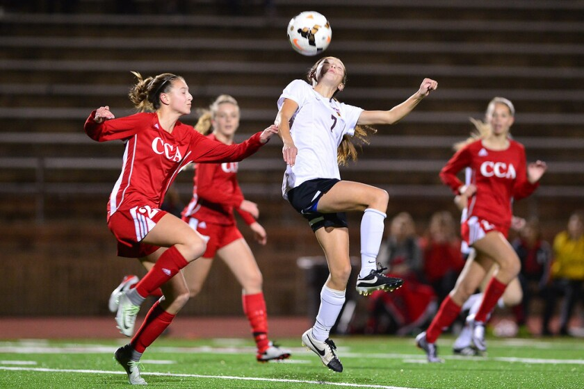Torrey Pines defeated Canyon Crest Academy 3-0 in an Avocado League West game on Jan. 19.