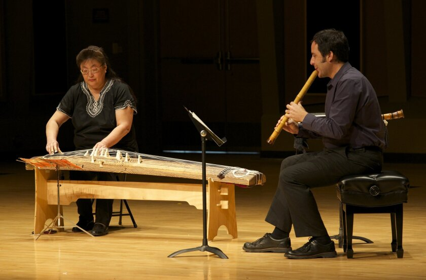 A concert of Japanese traditional music, featuring guest artists Sensei Yuki Easter on the koto and Dr. Alexander Khalil on the shakuhachi, was performed at MiraCosta College last semester.