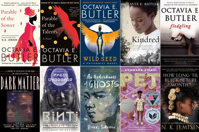Today's black speculative fiction authors include Octavia Butler, Rivers Solomon and N.K. Jemisin.
