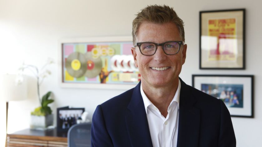 BURBANK, CA - AUGUST 23, 2016: Portrait of Kevin Reilly, President of TNT & TBS in Burbank, CA Augu