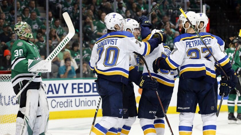 Nhl Playoffs St Louis Blues Force Game 7 With Win Over Dallas