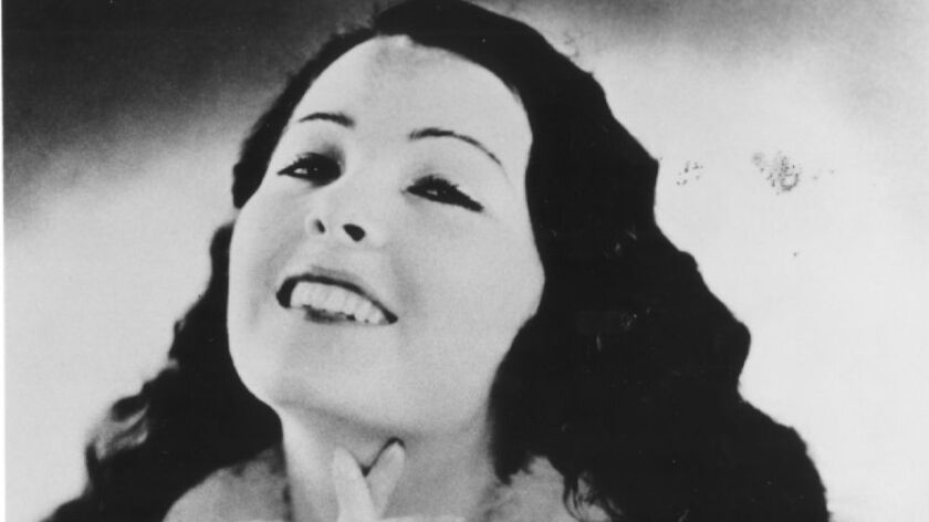 """Lupita Tovar made more than 30 films. One of her earlier movies, """"Santa,"""" is believed to be one of the first with sound in the Mexican film industry."""