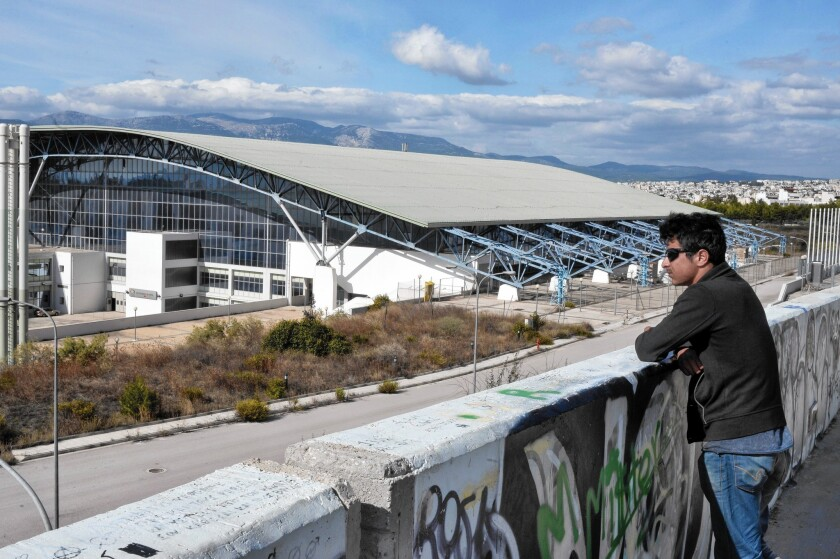 Former Olympic Stadiums Are Being Used To Shelter Migrants