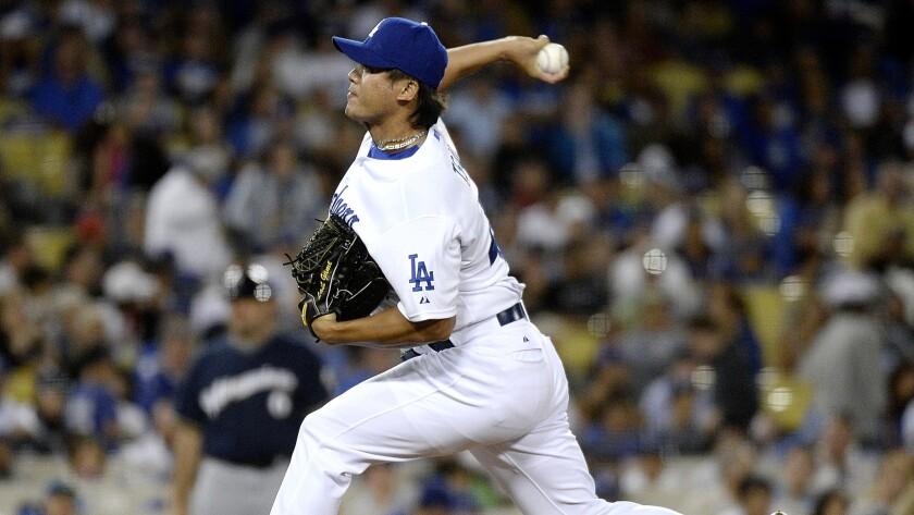 Dodgers send down Mike Bolsinger, call up Chin-Hui Tsao