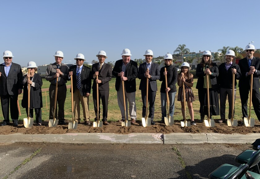 The Escondido Union School District recently held a groundbreaking ceremony for its planned STEM Center at Del Dios Academy of Arts and Sciences.
